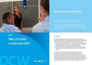 03-0 De Wet Primair Onderwijs BES - Rijksdienst Caribisch Nederland