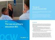 The Law on primary education BES - Rijksdienst Caribisch Nederland