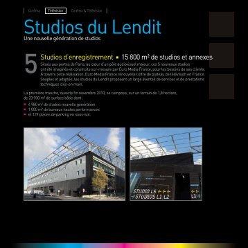 brochure studios du lendit - Euro Media France