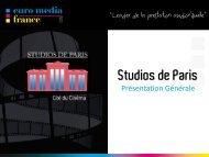 Les Studios de Paris - Euro Media Group