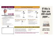 Printable Brochure on all Equipment - US Paper Counters