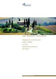 Rapporto conclusivo 2001-2002 - Osservatorio di Pavia