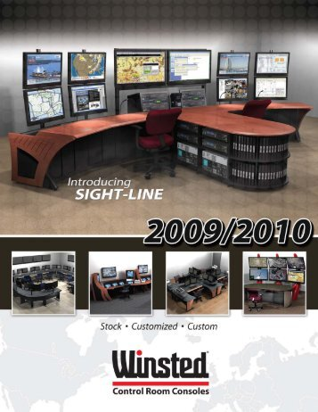 Sight-Line Consoles - Winsted Corporation