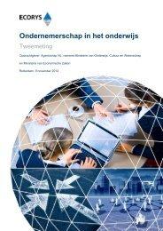 Ondernemerschap in het Onderwijs - Tweemeting - Agentschap NL