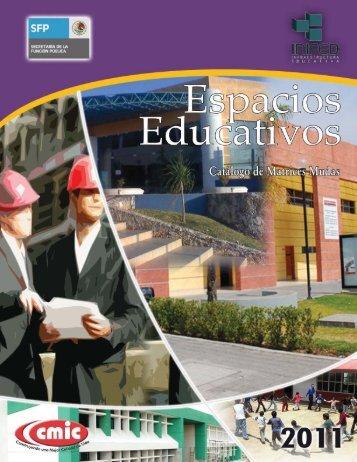 Catálogo de Matrices Mudas INIFED 20121