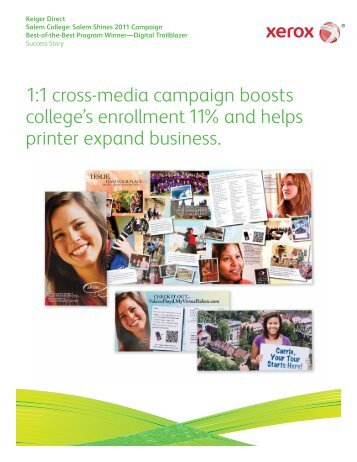 Keiger Graphic Communications and Salem College PDF - Xerox