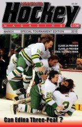2015 Minnesota Boys' State Hockey Tournament Guide