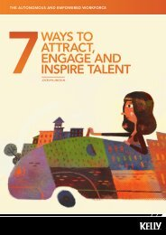 7ways to attract, engage and inspire talent - Kelly Services