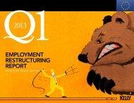E.U. Q1 2013 Employment Restructuring Report - KellyOCG