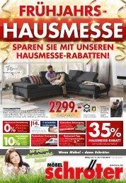 Moebel Schroeter Fruehjahrshausmesse Wochen 1115