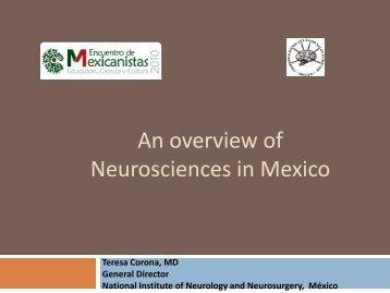PERSPECTIVA DE LAS NEUROCIENCIAS EN MÉXICO
