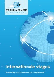 handleiding Internationale mbo-stages - Ecabo