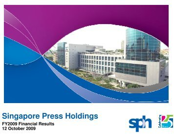 1126 KB - Singapore Press Holdings - Investor Relations