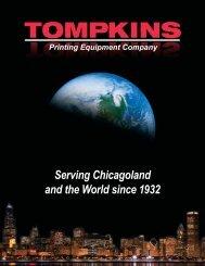 TOMPKINS Printing Equipment Company