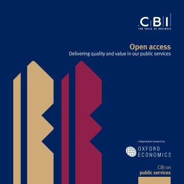 Open access – Delivering quality and value in our public ... - Guardian
