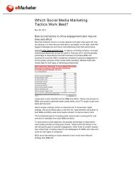 Which Social Media Marketing Tactics Work Best? - Velocity Print ...