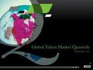 Global Talent Market Quarterly - Kelly Services