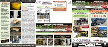 BIDDING DEADLINE - Charleston Auctions