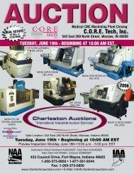 C.O.R.E. Tech, Inc. - Charleston Auctions