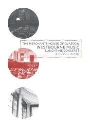 WESTBOURNE MUSIC - Fraser Web Design