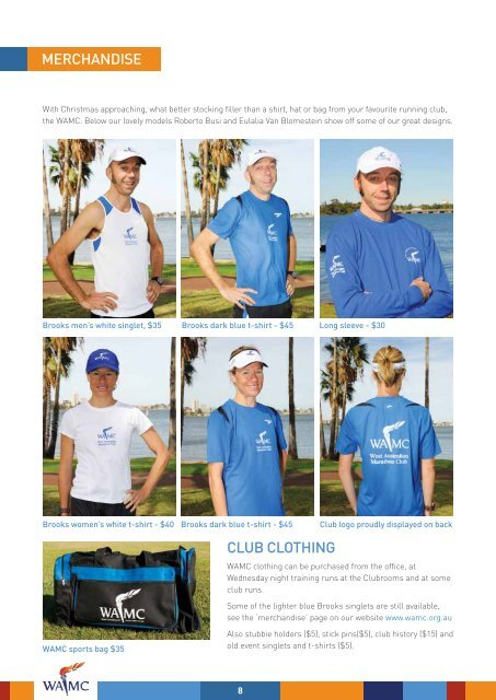 December 2011 Newsletter - West Australian Marathon Club