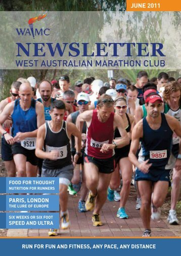 May 2011 Newsletter - West Australian Marathon Club