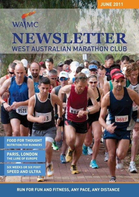 May 2011 Newsletter - West Australian Marathon Club