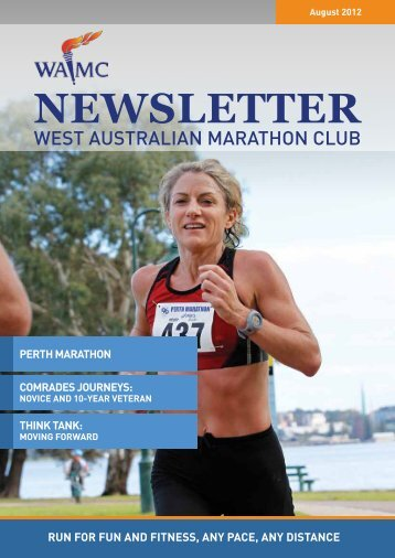 NEWSLETTER - West Australian Marathon Club