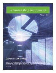 Environmental Scan - Daytona State College