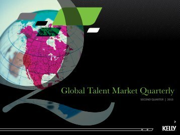 Global Talent Market Quarterly - Kelly Services