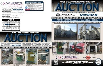 HUGE 2-DAY ONLINE ONLY AUCTION - Charleston Auctions