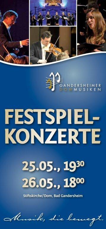 festspiel- konzerte - Stbarbara-wittmar.de
