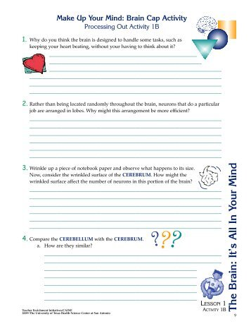 The Brain: It's All In Your Mind - Teacher Enrichment Initiatives - The ...