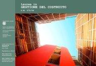Presentazione Laurea in Gestione del Costruito - Dipartimento di ...