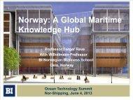 Norway: A Global Maritime Knowledge Hub - Maritim21