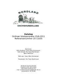 Katalog Ordinær blodsporprøve 25/6-2011 Referansenummer 25 ...