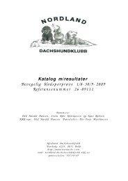 Bevegelig 2 Salten - Nordland Dachshundklubb