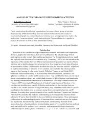 roup for the Psychology of Mathematics Education - UPRM