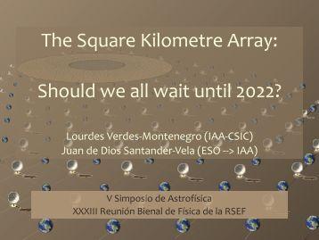 the square kilometer array essay Jodrell bank centre for astrophysics: the square kilometre array (ska.