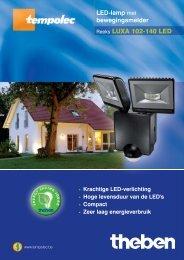 Reeks LUXA 102-140 LED - Light & Design Centre Rotselaar