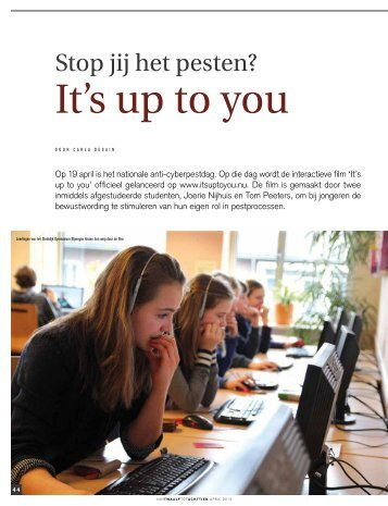 It's up to you - Loket Gezond Leven