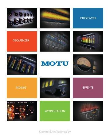 MOTU Katalog 04/2014