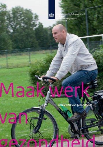 Download Flyer Maak werk van Gezondheid - Loket Gezond Leven