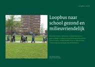 Loopbus naar school gezond en milieuvriendelijk - Loket Gezond ...