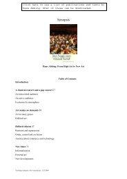 Van hoge Synopsis USA-version - Hans Abbing