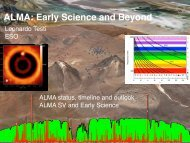 ALMA: Early Science and Beyond