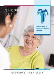 Klinik für Geriatrie - Rehabilitations- und Präventionszentrum Bad Bocklet - 03/15