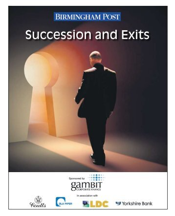 to view supplement - Gambit Corporate Finance LLP