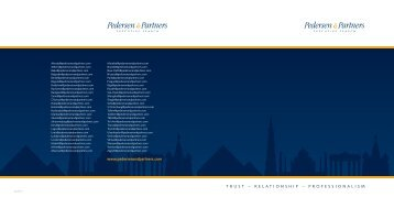 here to download - Pedersen & Partners