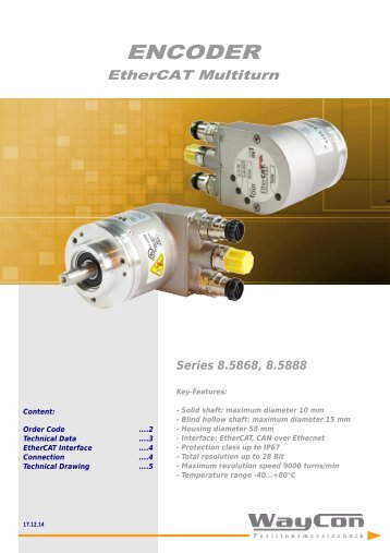 ENCODER EtherCAT